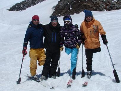 Ski con estabilizadores