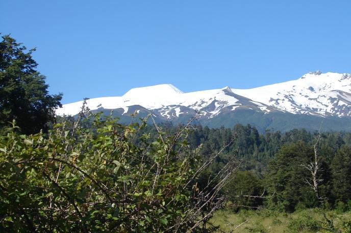 Volcán Mocho Choshuenco , Los Andes Patagónicos