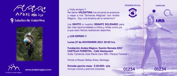 Invitación Remate Noviembre 2017